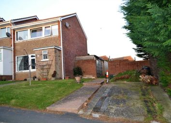 Thumbnail 2 bed end terrace house for sale in Langstone Drive, Exmouth