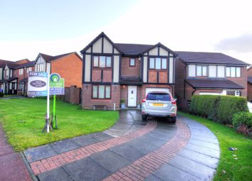 Thumbnail 4 bed detached house for sale in Queensbury Drive, North Walbottle, Newcastle Upon Tyne