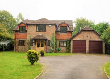 Thumbnail 5 Bed Detached House For Sale In Longmoor Road Liphook