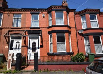 Thumbnail 3 bed terraced house for sale in Waring Avenue, Tranmere, Birkenhead