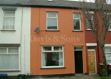 Thumbnail 2 bed terraced house to rent in Liscombe Street, Newport, Newport.