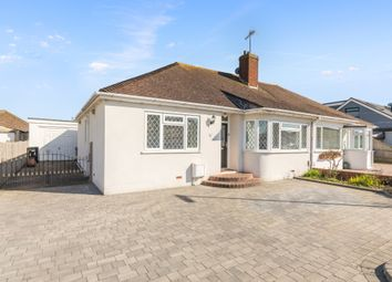 Thumbnail 3 bed semi-detached bungalow for sale in The Drive, Lancing