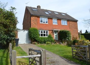 Thumbnail 3 bed semi-detached house for sale in Stone Cross Road, Wadhurst