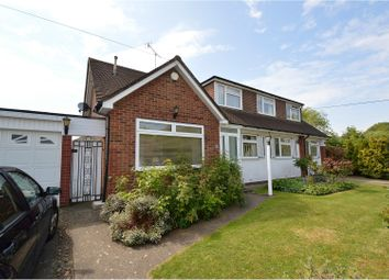 Thumbnail 4 bed detached house for sale in Middle Green, Brentwood