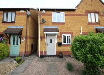 Thumbnail 2 bed semi-detached house for sale in The Lawns, Bedworth