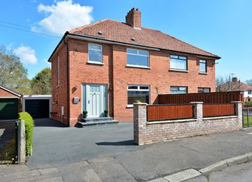 Thumbnail 3 bed semi-detached house for sale in Sicily Park, Finaghy, Belfast