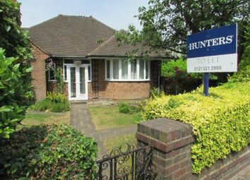 Thumbnail 2 bed detached bungalow to rent in Walmley Road, Sutton Coldfield, West Midlands