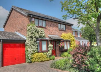 Thumbnail 4 bedroom detached house for sale in Romsey Grove, Lemington Rise, Newcastle Upon Tyne