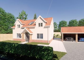 Thumbnail 4 bed detached house for sale in Earls Green Road, Bacton, Stowmarket