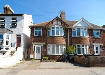 Thumbnail 3 bed semi-detached house for sale in Margate Road, Ramsgate