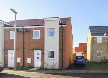 Thumbnail 3 bed semi-detached house to rent in Eaton Hall Crescent, Broughton, Milton Keynes, Bucks