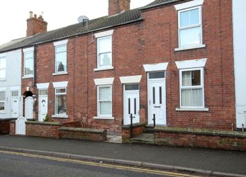 Thumbnail 2 bed terraced house to rent in The Green, Swanwick, Alfreton