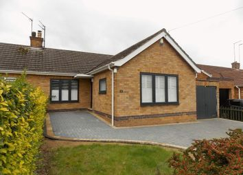 Thumbnail 3 bedroom semi-detached bungalow to rent in Glebe Avenue, Hardingstone, Northampton