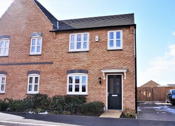 Thumbnail 3 bed semi-detached house for sale in Bluebell Green, Desford