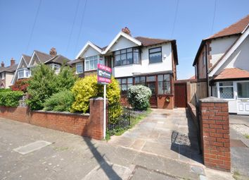Thumbnail 3 bed semi-detached house for sale in Links Road, Blackpool, Lancashire