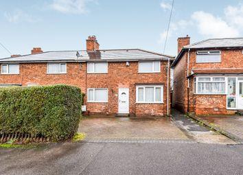 Thumbnail 3 bed end terrace house for sale in Coniston Road, Erdington, Birmingham