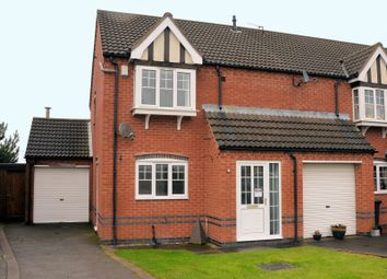 Thumbnail 3 bed property for sale in Grange View, Ellistown