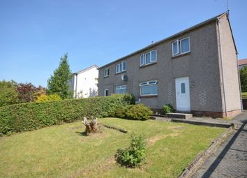 Thumbnail 3 bed semi-detached house for sale in Glenside Road, Dumbarton
