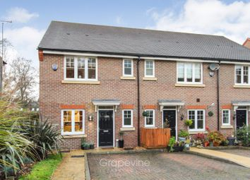 Thumbnail 3 bed end terrace house for sale in Garraway Close, Ruscombe, Reading