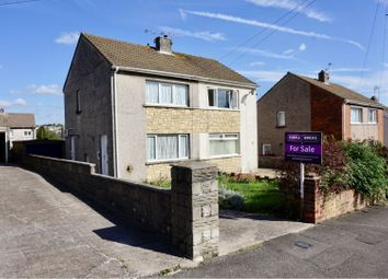 Thumbnail 2 bed semi-detached house for sale in Llangewydd Road, Cefn Glas