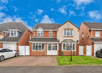 Thumbnail 4 bed detached house for sale in Kingscroft, Hednesford, Cannock