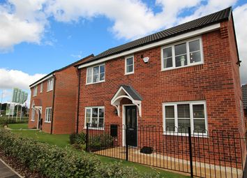"Thumbnail 3 bed detached house for sale in ""The Clayton Corner"" at Hilltop, Oakwood, Derby"