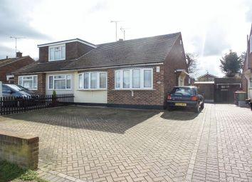 Thumbnail 2 bed semi-detached bungalow for sale in Keswick Avenue, Hullbridge, Hockley