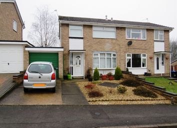 Thumbnail 3 bed semi-detached house for sale in Dove Drive, Selston, Nottingham