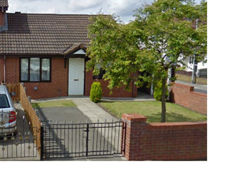 Thumbnail 2 bed bungalow to rent in Lapford Crescent, Northwood, Kirkby