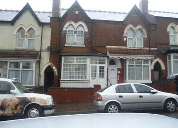 Thumbnail 3 bedroom terraced house to rent in Station Road, Handsworth, Birmingham