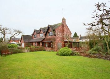 Thumbnail 4 bed detached house for sale in Back Lane, Gnosall, Stafford