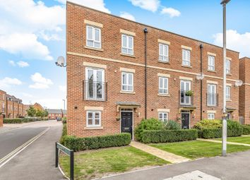 Thumbnail 4 bed terraced house for sale in Racecourse Road, Newbury