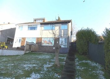 Thumbnail 3 bed semi-detached house for sale in Wingfield Close, Pontypridd