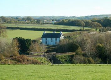 Thumbnail 4 bed farmhouse for sale in Comins Coch, Aberystwyth