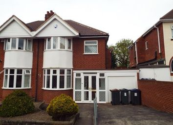 Thumbnail 3 bed semi-detached house for sale in Fairford Road, Birmingham, West Midlands