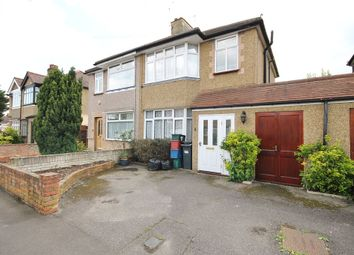 Thumbnail 3 bed semi-detached house for sale in Hayling Avenue, Feltham