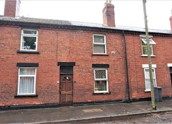 Thumbnail 2 bed terraced house for sale in Coulson Road, Lincoln