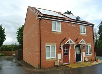 Thumbnail 2 bed semi-detached house for sale in Viscount Close, Pinchbeck, Spalding, Lincolnshire