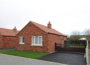 Thumbnail 2 bed bungalow for sale in The Paddock, Sands Lane, Barmston, Driffield