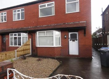 Thumbnail 3 bed semi-detached house to rent in Kingsway North, Warrington
