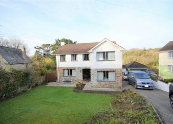 Thumbnail 4 bed detached house for sale in Coombe, St Austell, Cornwall