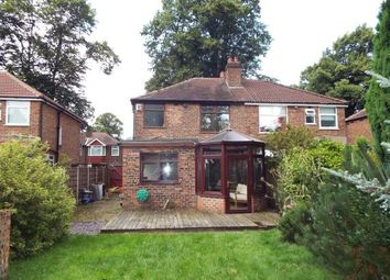 Thumbnail 3 bedroom semi-detached house for sale in Aldermary Road, Manchester, Chorlton, Greater Manchester