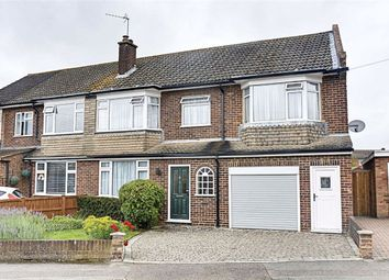 Thumbnail 4 bed semi-detached house for sale in Rushfield Road, Ware, Hertfordshire