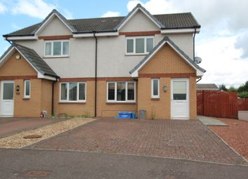 Thumbnail 3 bed semi-detached house for sale in Priory Crescent, Kirkmuirhill, Lanark