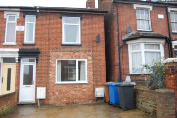 Thumbnail 2 bed semi-detached house to rent in Palmerston Road, Ipswich, Suffolk
