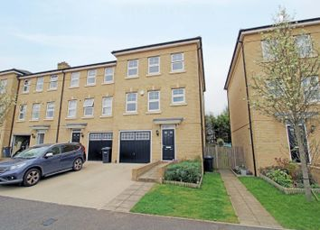 Foxglove Close, Chertsey, Surrey KT16. 4 bed end terrace house for sale