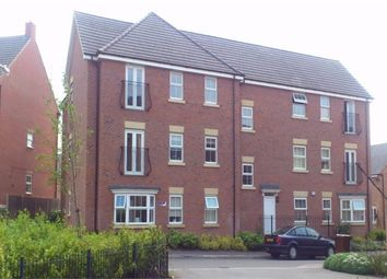 Thumbnail 2 bedroom flat to rent in Fieldfare Close, Corby, Northamptonshire
