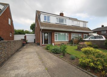 Thumbnail 3 bed semi-detached house for sale in Linden Close, Lostock Hall, Preston