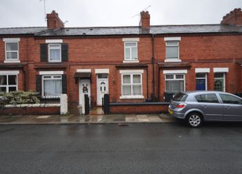 Thumbnail 3 bedroom terraced house to rent in Faulkner Street, Hoole, Cheshire