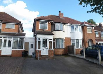 Thumbnail 3 bed semi-detached house for sale in Parkdale Road, Birmingham